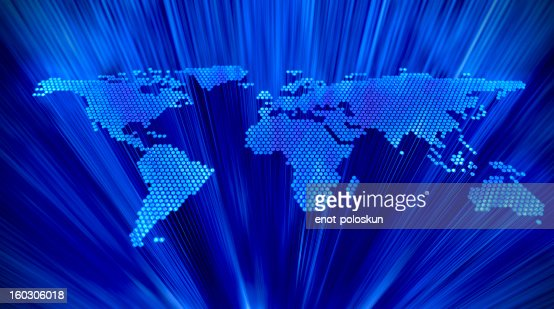 abstract earth map : Stockfoto