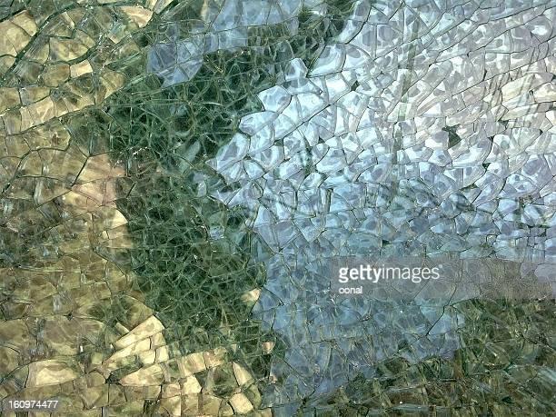 抽象割れたガラスのモザイク