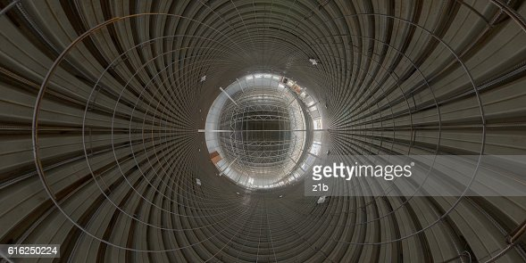 Abstract geometrical gackground of indoor construction site : Foto de stock