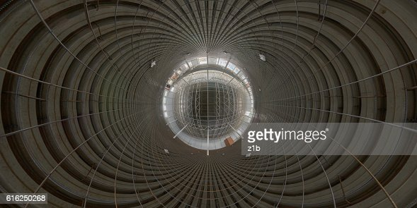 Abstract geometrical gackground of indoor construction site : Stock Photo