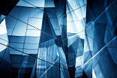 Abstract Glass Architecture