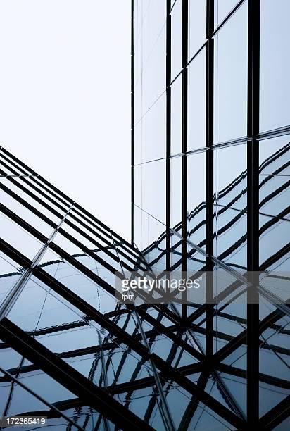 Abstrakte Glas-Architektur