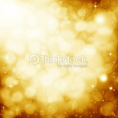 Abstract golden background with lens flare effect : Stock Photo