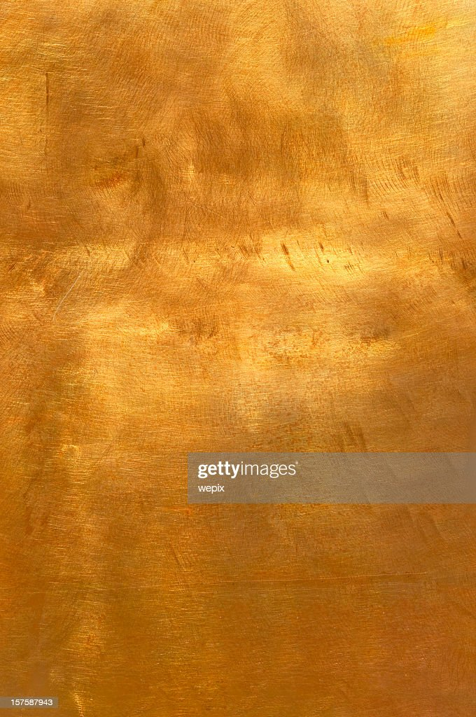 Abstract golden copper or bronze metal background XL : Stock Photo
