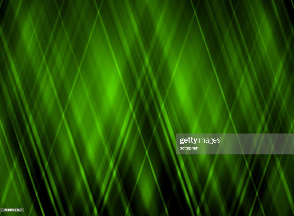 Abstract Green on black background. - business card : Stock Photo