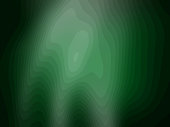 Abstract green rippled waves pattern  background