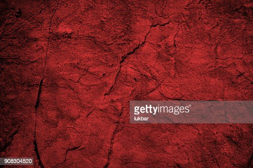 Abstract grunge red wall texture : Stock Photo