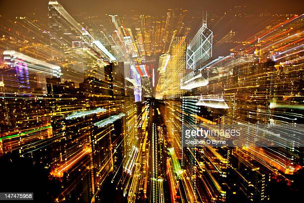 Abstract image of city