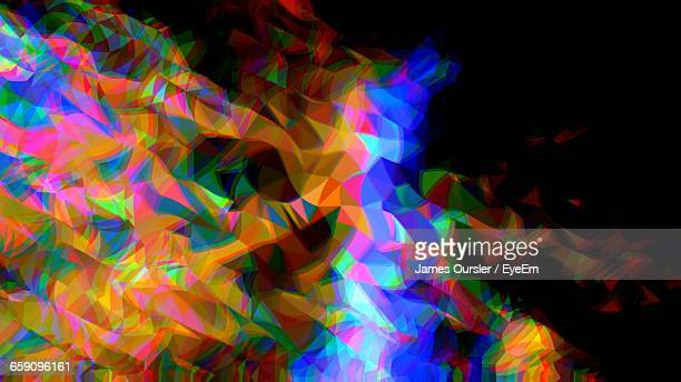 Abstract Image Of Colorful Lights