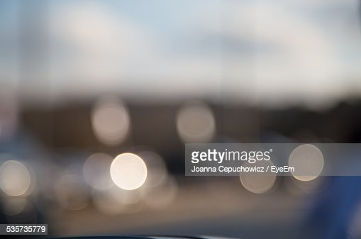 Abstract Image Of Defocused Lights