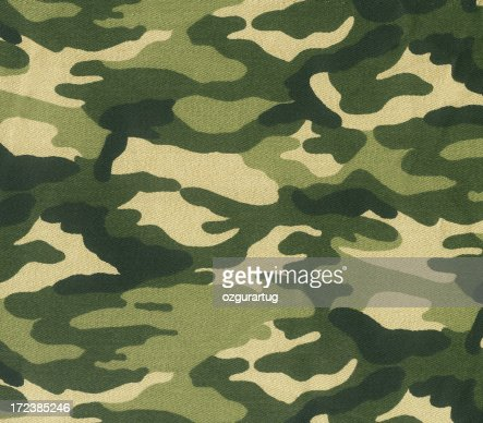 Abstract image of green camouflage