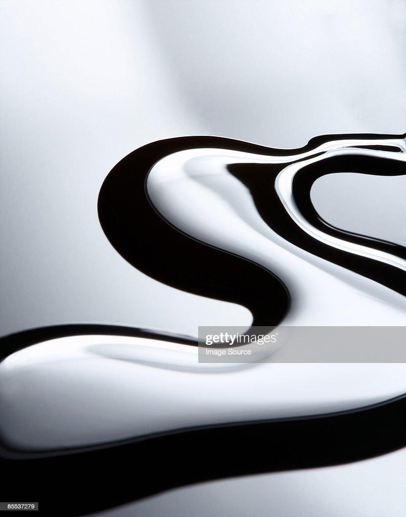 Abstract image of nail varnish : Stock Photo