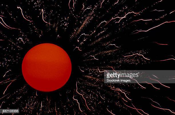 Abstract image of the Sun.