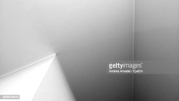 Abstract Image Of White Wall