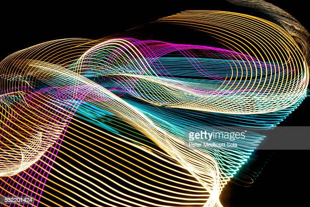 Abstract Light Painting 1986