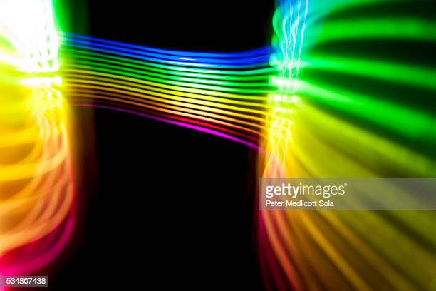 Abstract Light Painting Background 3