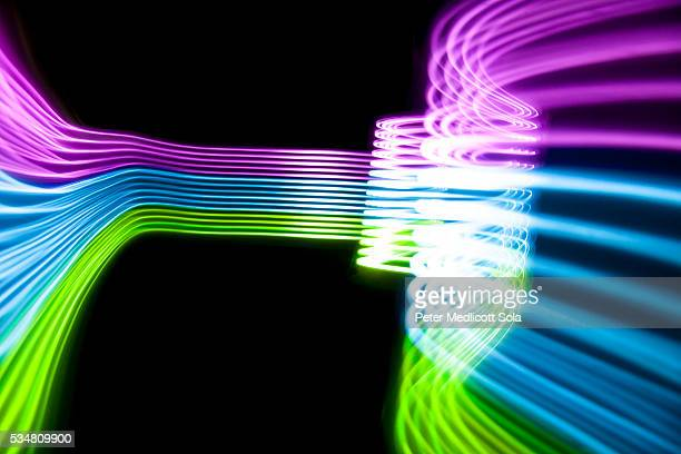 Abstract Light Painting Background 5