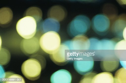 Abstract light pattern (long exposure) : Stock Photo