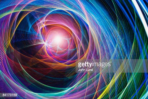 Abstract light patterns