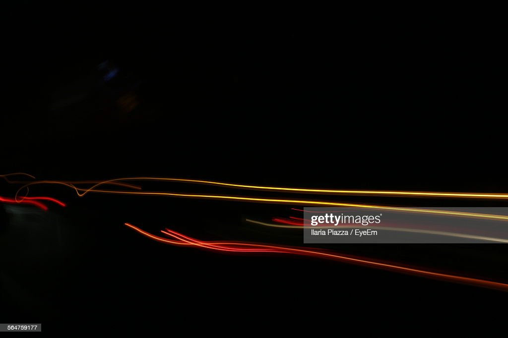 Abstract Light Trails : Stock Photo