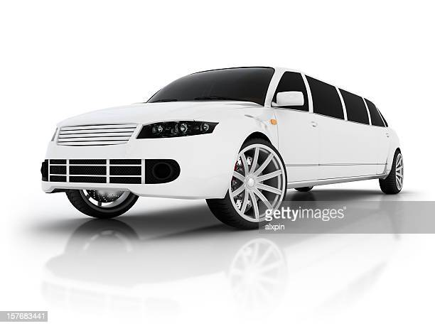 Abstract limousine