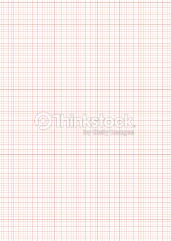 Abstract Math Background With Red Graph Paper Ideal