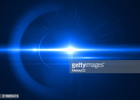 Abstract modern blue light art background : Stock Photo