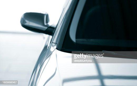 abstract modern car