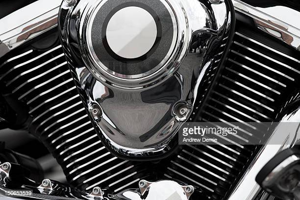 Abstract Motorcycle Engine