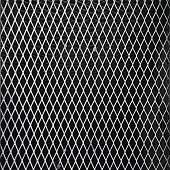 Abstract Of Mesh Wire Fence