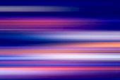 abstract of night lights in the city with motion blur