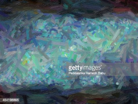 Aceite de pintura de naturaleza abstracta : Foto de stock