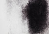Abstract  black arts background texture.  Charcoal on paper.