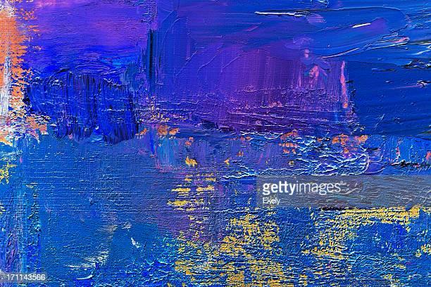 Abstrakte blauen art Hintergründe.
