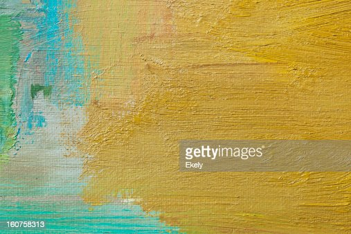 Abstract painted green art backgrounds. : Stock Photo