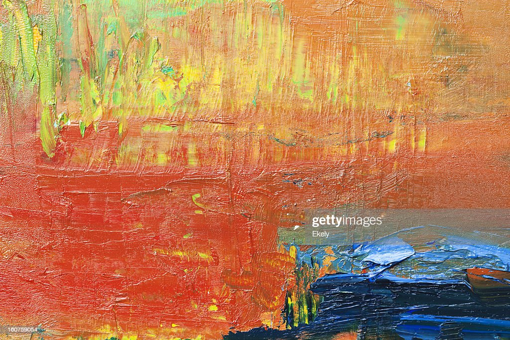Abstract green, red and yellow art backgrounds. : Stock Photo
