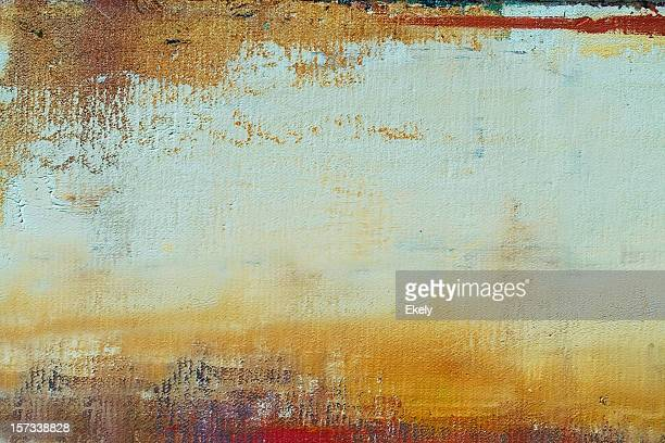 Abstract painted ocher art backgrounds.