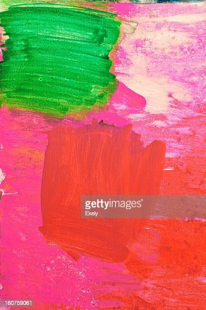 Astratto dipinto sfondo rosso d'arte.