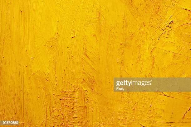 Abstrait jaune peint art arrière-plans.