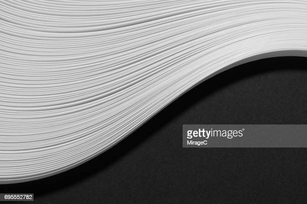 Abstract Paper Wave