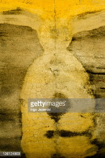 Abstract Pattern on Wall : Stock Photo