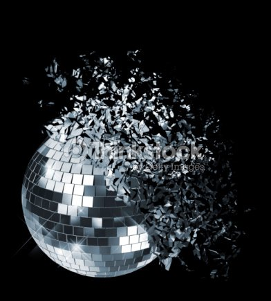 Abstract Photo Of Disco Ball Shattering Stock Photo ...