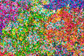abstract impressionist art work in pointillist style - brush strokes of oil painting - colorful abstract texture