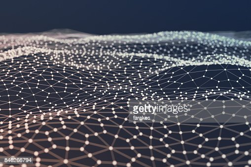 Abstract polygonal background : Stock Photo