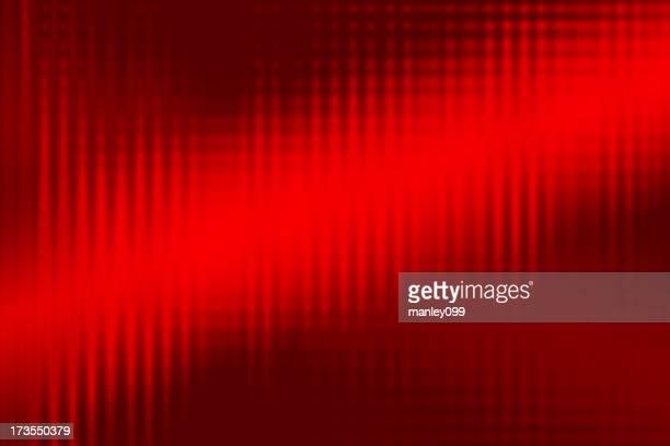 Abstrakt Rot Hintergrund von Schallwellen