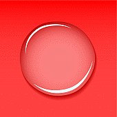 abstract red background with water droplet and shadow