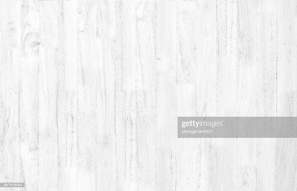 Abstract Rustic Surface White Wood Table Texture Background. Close Up Of  Rustic Wall Made Of