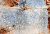 abstract rusty metal wall texture background