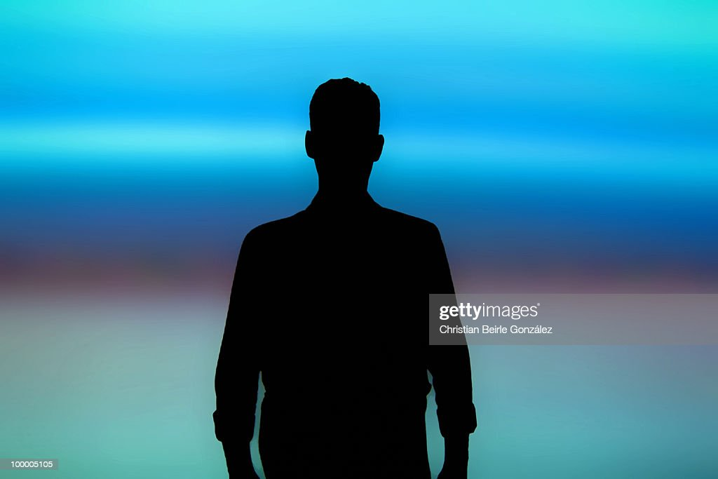 Abstract  self portrait : Stock Photo