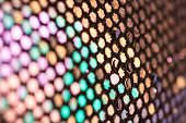 Abstract Sequins close up
